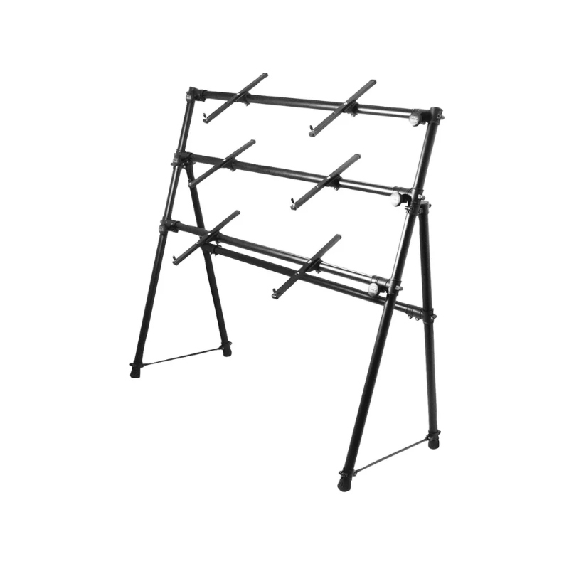 On-Stage Stands KS7903 3-Tier A-Frame Keyboard Stand | feslon