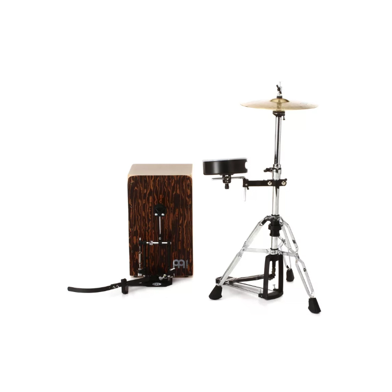 meinl percussion cajon drum set with cymbals and hardware feslon. Black Bedroom Furniture Sets. Home Design Ideas