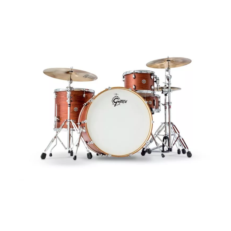 2010c269a60 Gretsch Drums Catalina Club Rock 4-piece Shell Pack with Snare Drum – Satin  Walnut Glaze